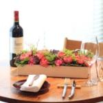 ワインと花で大人の記念日を祝う、ワイン&フラワーギフト