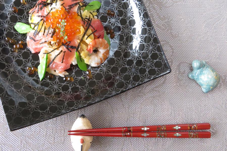 銀座夏野の箸