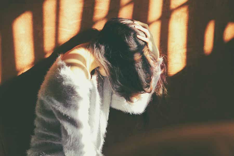 孤独で不安な心持ち
