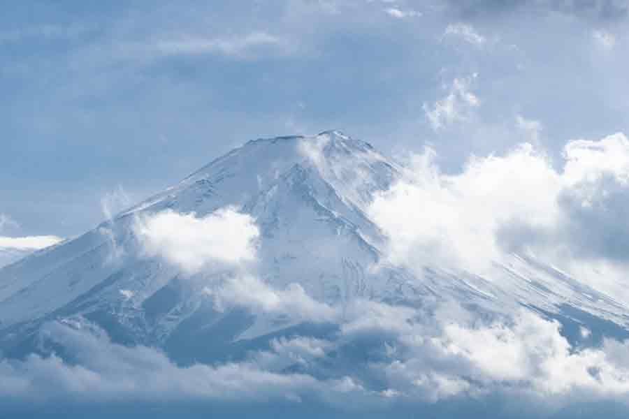 縁起のいい富士山