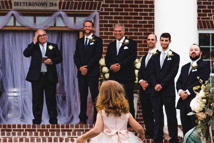 結婚式に参列してくれたゲスト