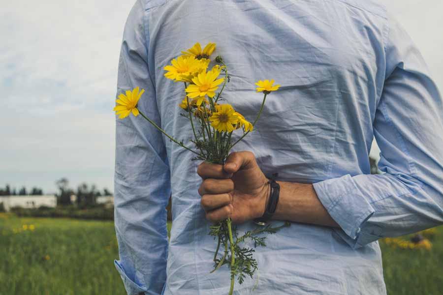 花と組み合わせたギフトセット