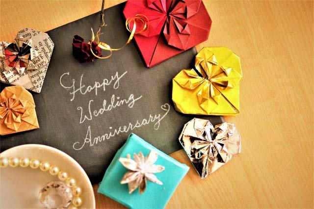 結婚記念日の種類