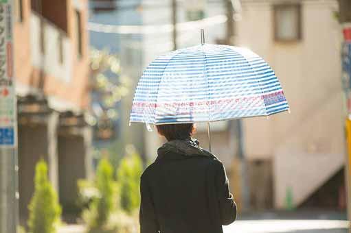 多彩なオシャレ傘