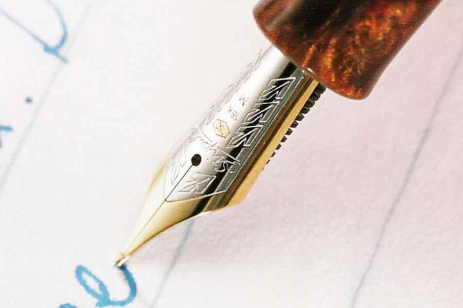 書斎館の万年筆