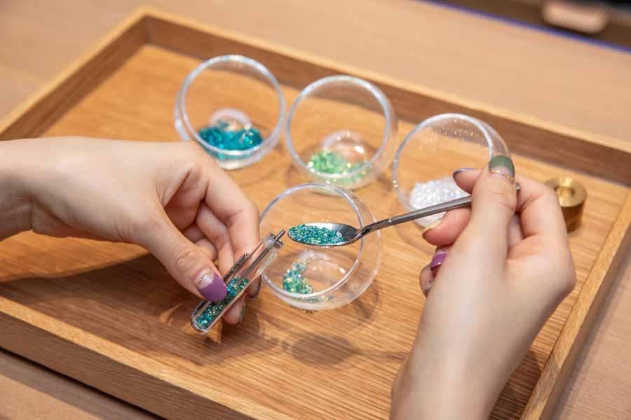 オリジナルボールペンの制作過程