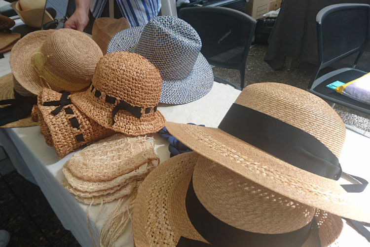 ひと夏の帽子店